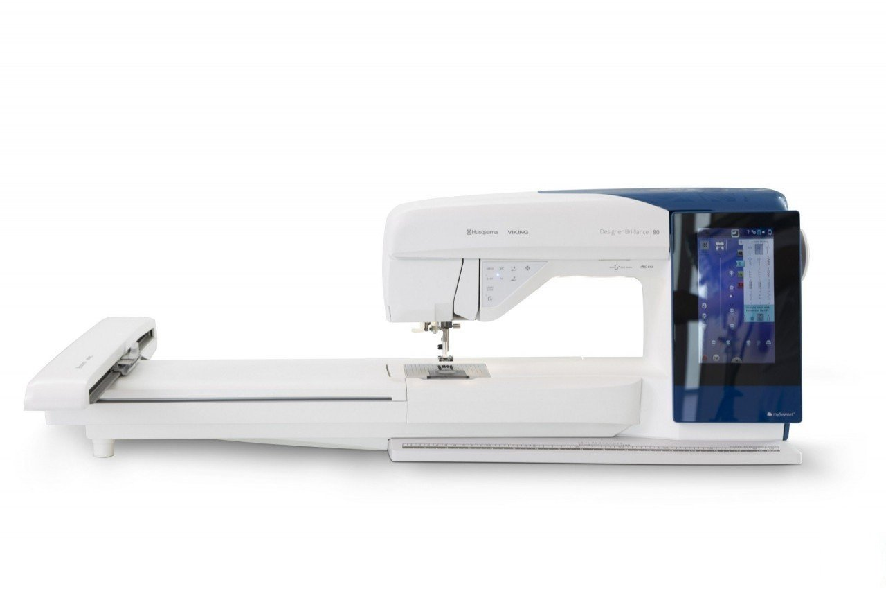 Husqvarna Viking - Designer Brilliance 80 - Sewing and Embroidery Machine