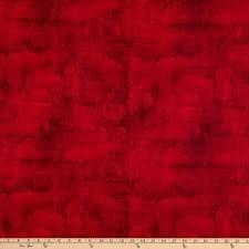 Wideback 108 - Essentials Red Dry Brush 100% Cotton