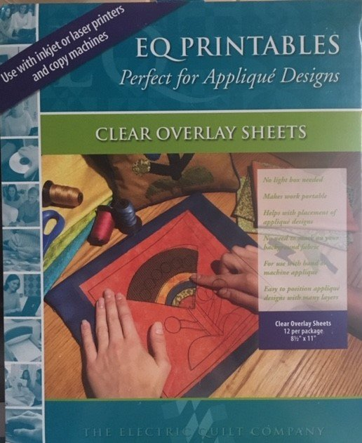 Electric Quilt Co. - Clear Overlay Sheets