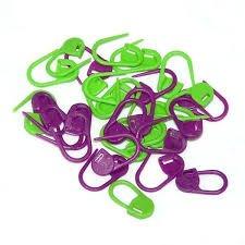Knitter's Pride - Locking Stitch Markers - Plastic