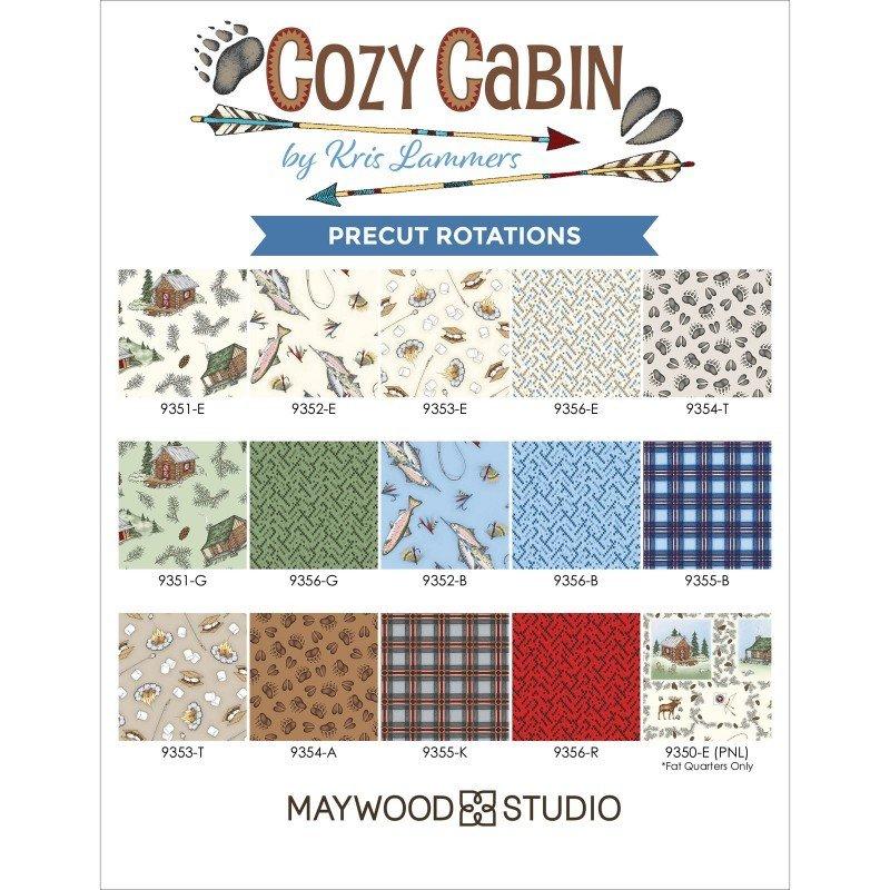 Maywood Cabin - Jelly Roll - 40 pces  - Beautiful Basics
