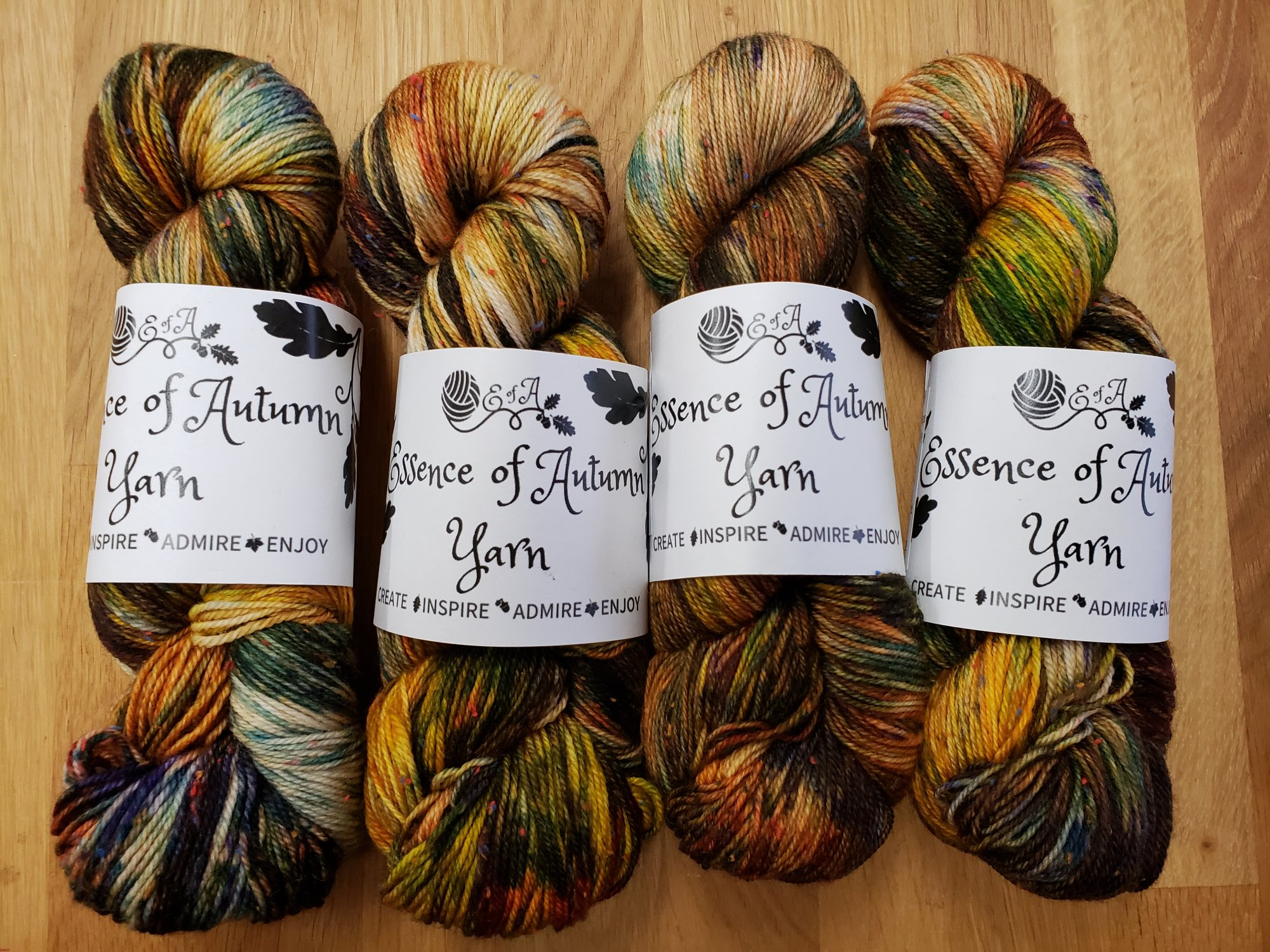 Highland Tweed Multi by Essence of Autumn - 80% Wool/20% Multi colour Neps