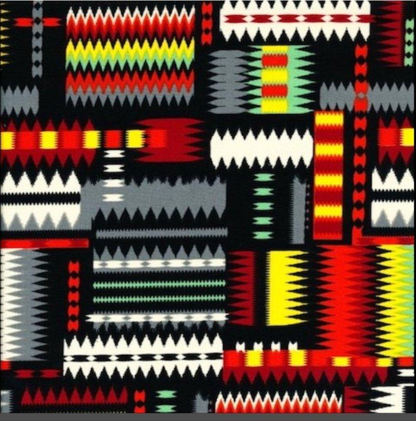 ST-ASTK Navajo Print  BRT2  42-44in wide
