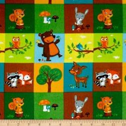 Woodland Blocks - Green - 0802