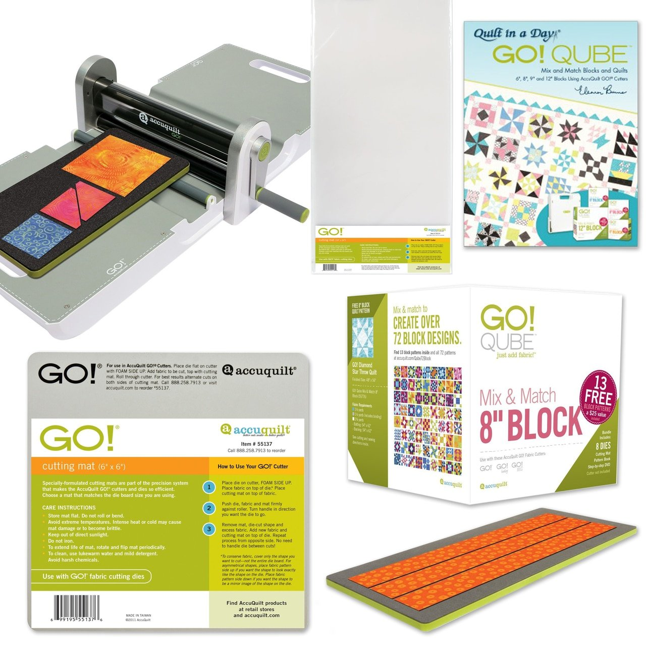 Ready. Set. GO! Ultimate Fabric Cutting System