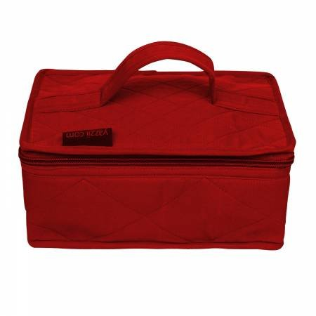 4 Pocket Red Organizer