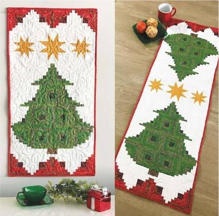 Pine Tree Banner or Table Runnr