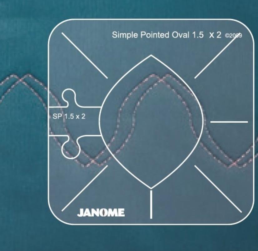 Janome Ruler Set for High Shank