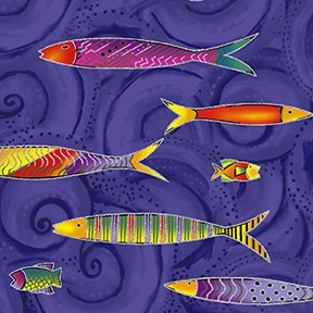 Sea Goddess by Laurel Burch