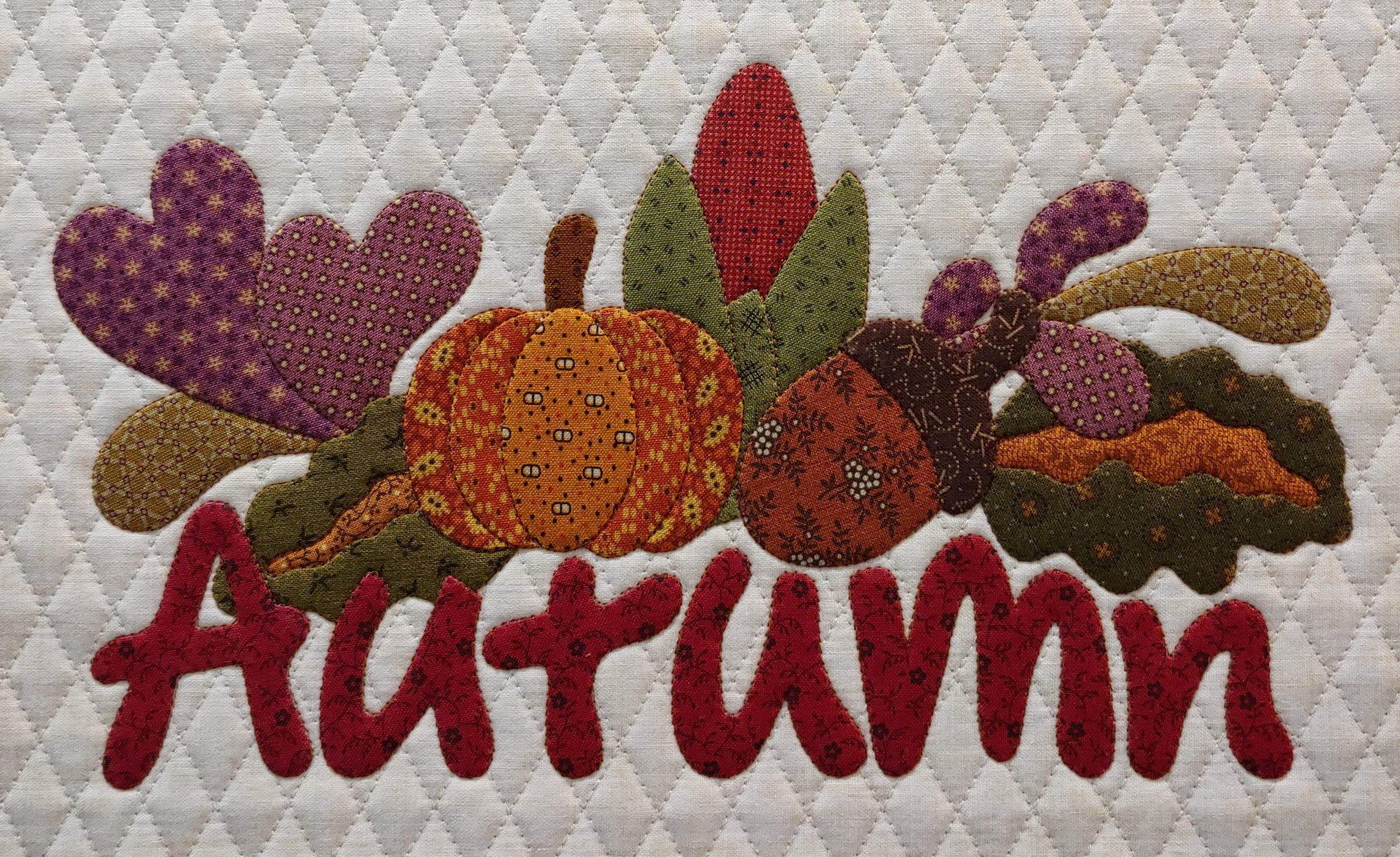 Autumn Machine Applique the Apliquick Way - Shelley Tobisch
