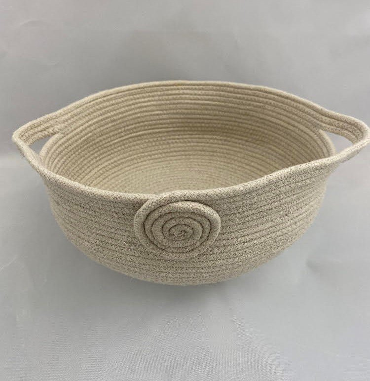 Clothesline Rope Bowls with Handles