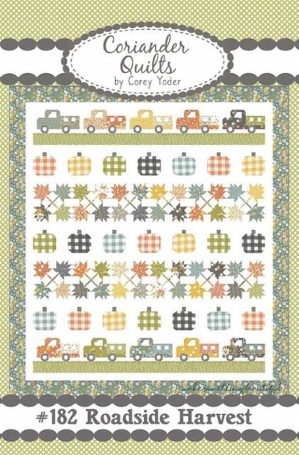 Roadside Harvest Pattern - Coriander Quilts
