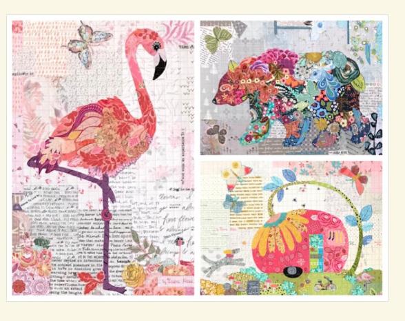Teeny Tiny Collage Studio Time