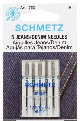 Schmetz Denim Jeans Machine Needle Size 14/90 - Box 10