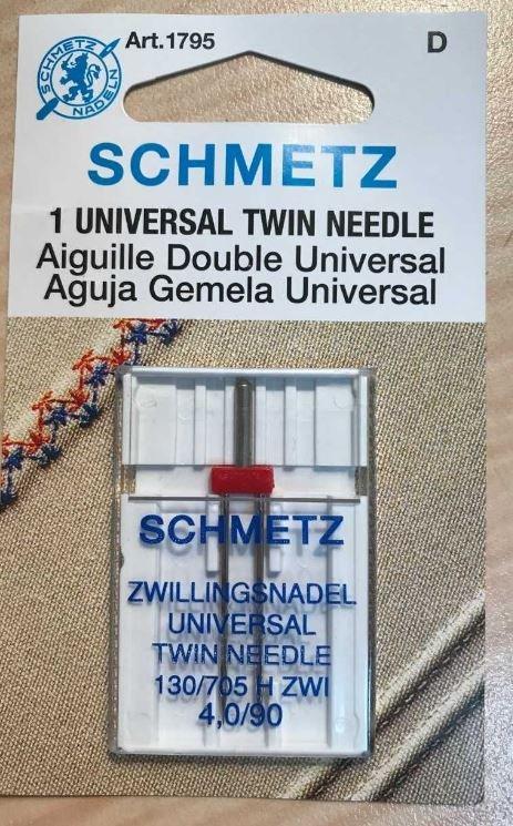 Inspira Twin Embroidery Needle 2mm size 75 1 PK
