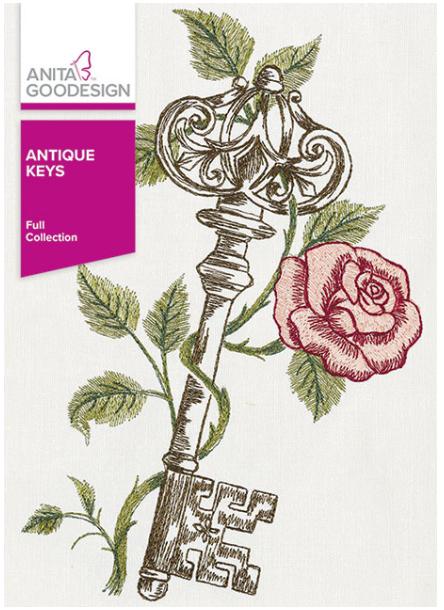 Anita Goodesign Antique Keys