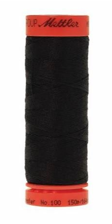 Metrosene Poly Thread 50wt 164yds Black Old Number 1161-0003