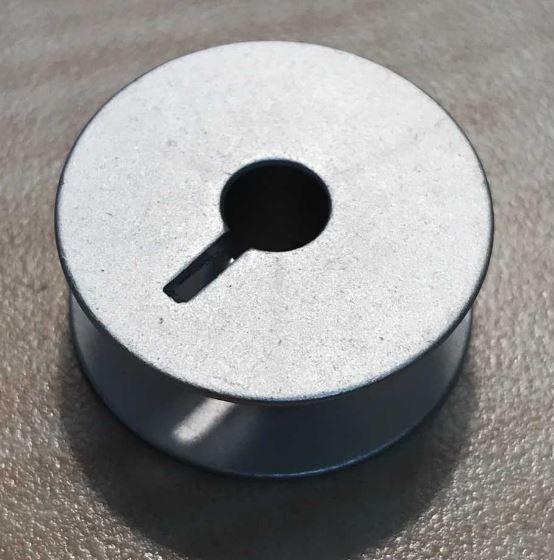 Bobbin aluminum M style w/slot