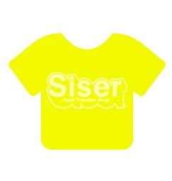 Siser EasyWeed HTV 15 x 12 Sheet [Fluorescent Yellow]