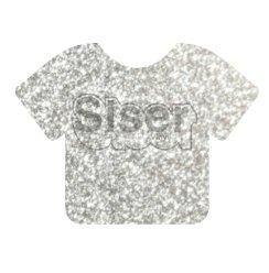 Siser EasyWeed Glitter Silver 20 x 12 Sheet