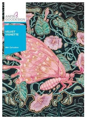 Anita Goodesign Velvet Vignette Mini Collection