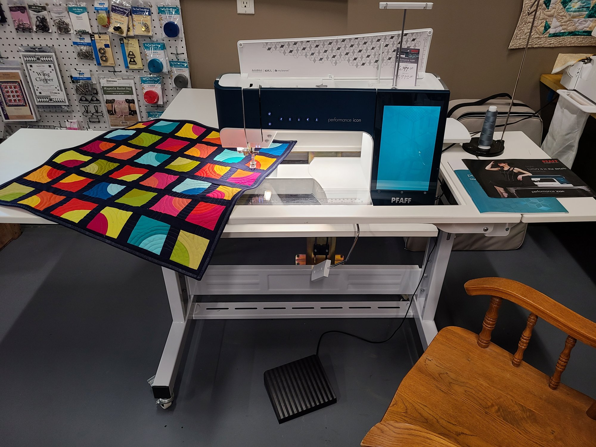 Custom Sewing Table