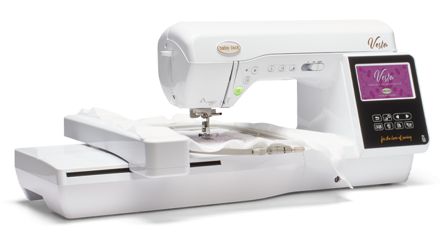 Baby Lock Vesta Sewing and Embroidery Machine