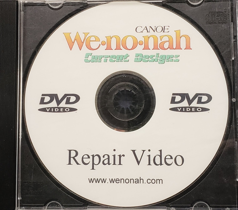 Canoe & Kayak Repair DVD