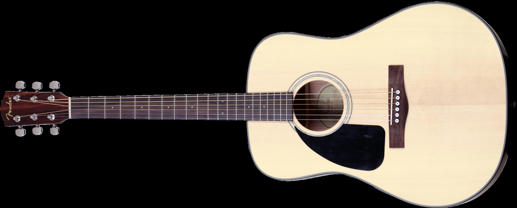 Fender CD-100 LH Dreadnought Acoustic Guitar, Left-Handed
