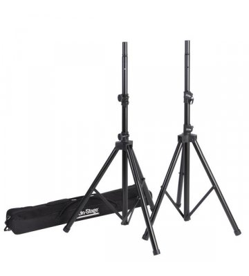 On-Stage SSP7950 All Aluminum Speaker Stand 2 Pack w Bag