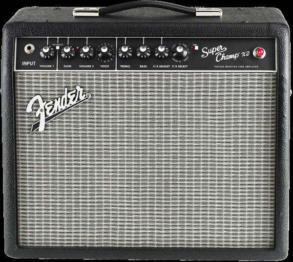 Fender Super Champ X2 Tube Combo Electric Guitar Amplifier
