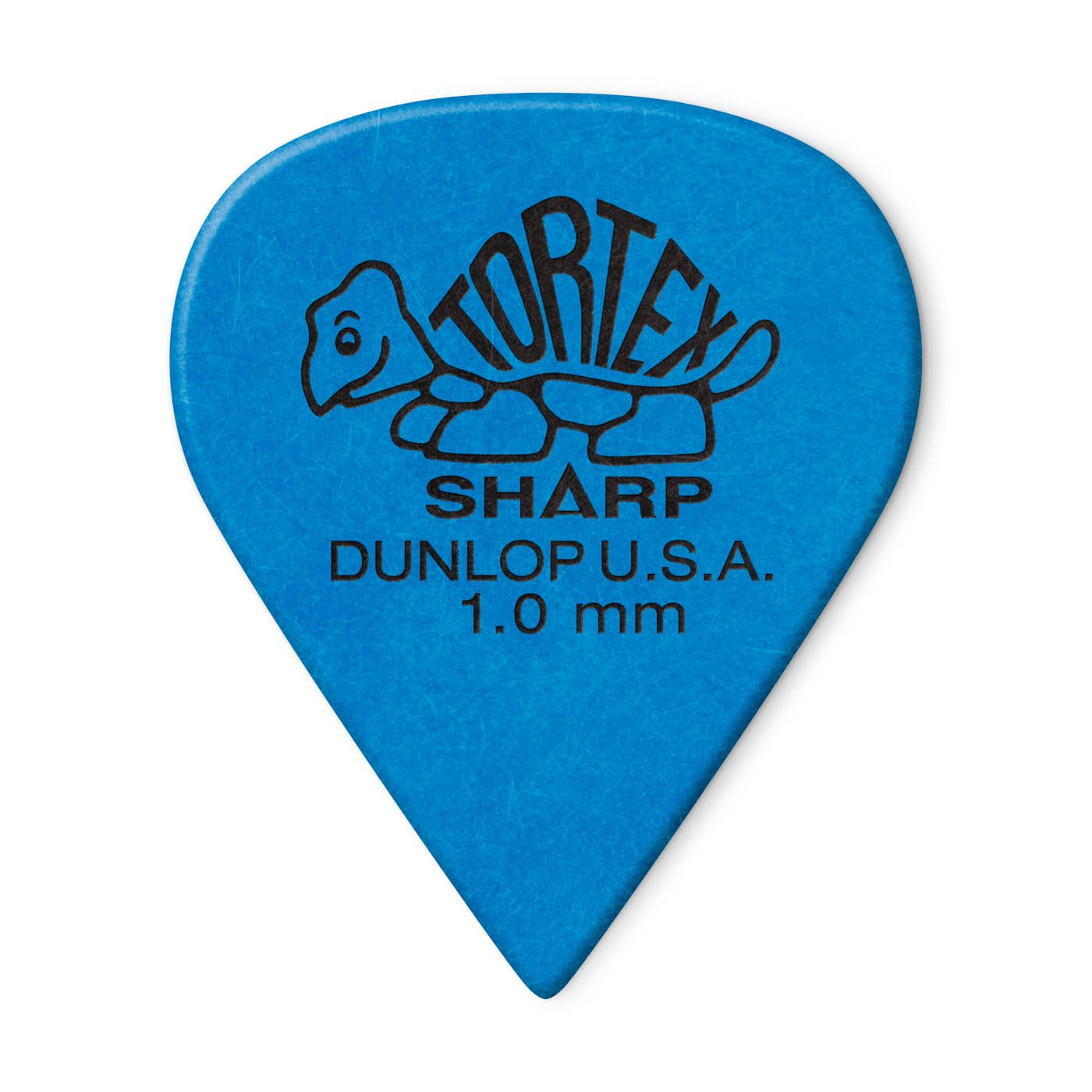 Dunlop 412P1.0 Tortex Sharp Guitar Picks, 1.0mm, 12ct