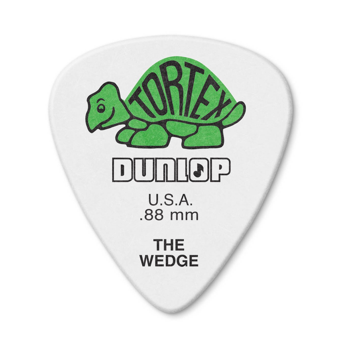 Dunlop 424P.88 Tortex Wedge Guitar Picks, .88mm, 12ct