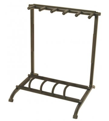 On-Stage Foldable 5 Guitar Rack Stand