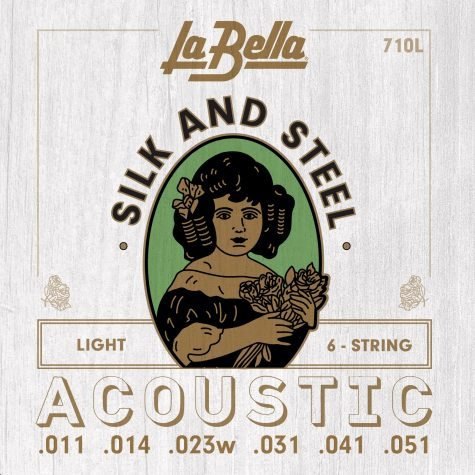 La Bella 710L Silk And Steel Acoustic Strings