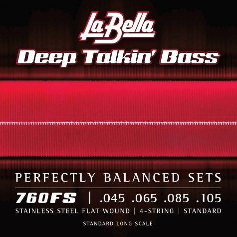 Labella Flatwound Bass Strings 45-105
