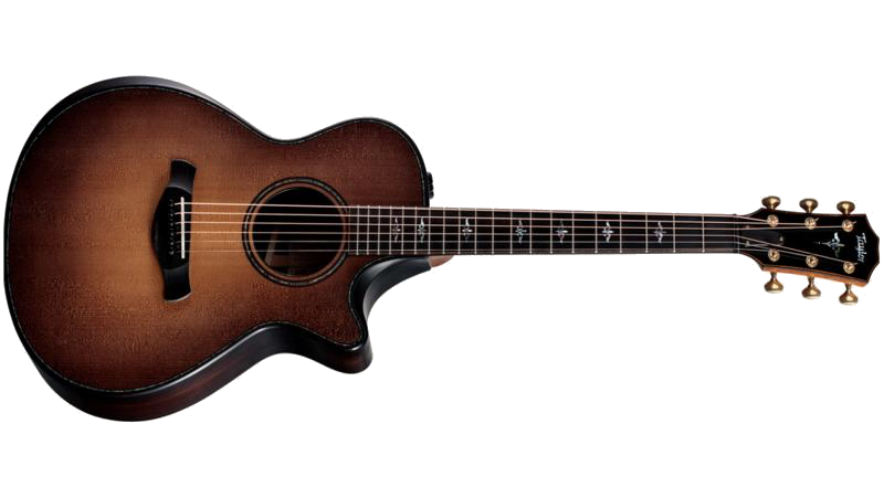 Taylor 912CE Builders Edition  Acoustic Electric Guitar Western Honey Burst