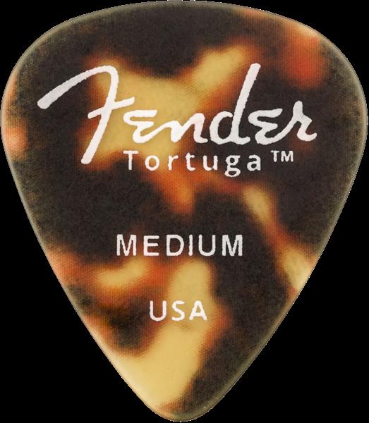 Fender 351 Shape Tortuga Picks, 6-Pack