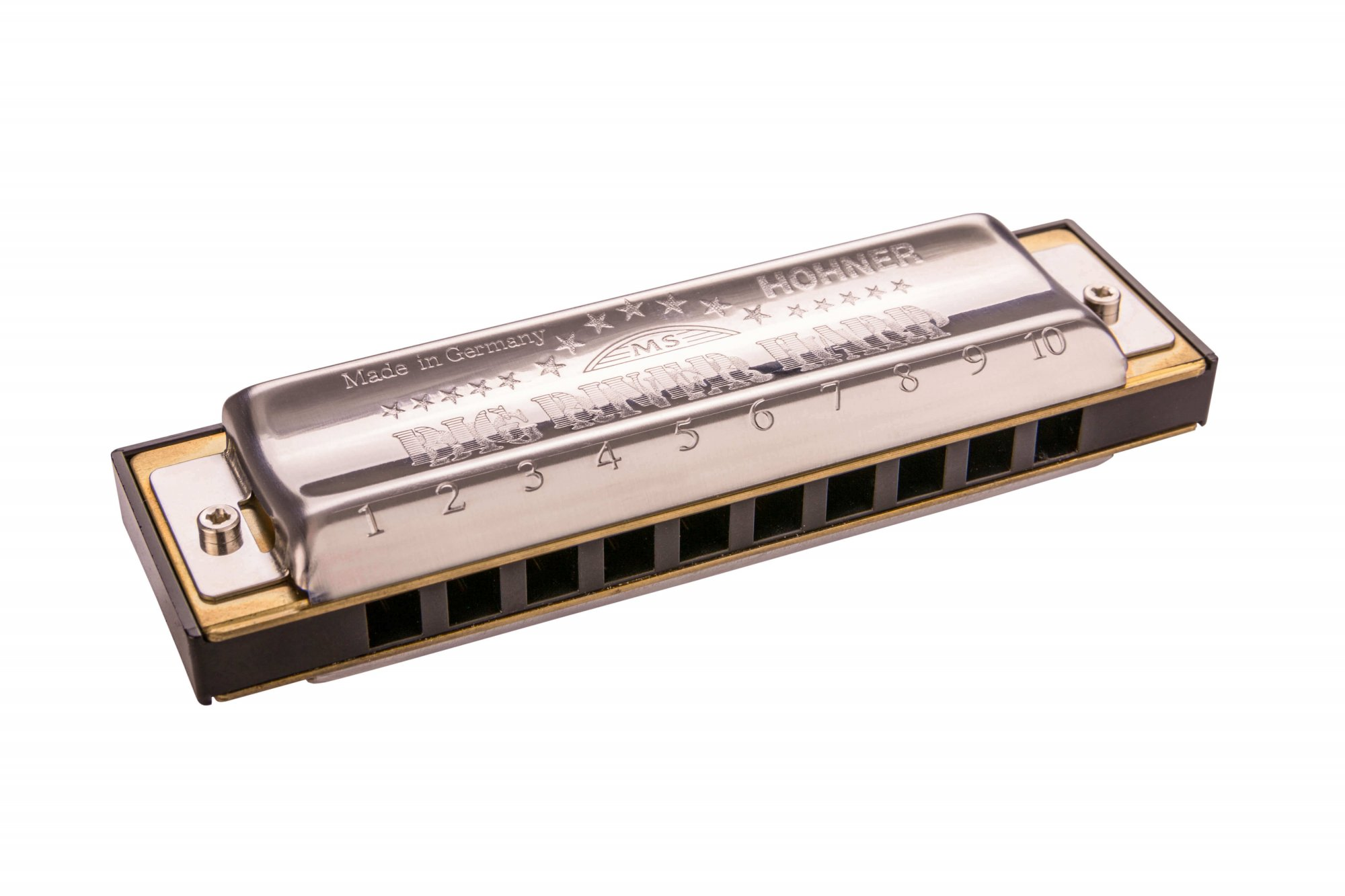 Hohner Big River Harmonica In D