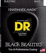 DR BKB-45 Black K3 Coated Bass Strings Medium 45-105