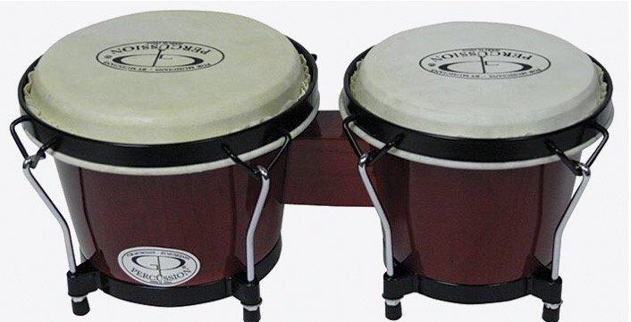 GP CB221 Percussion Birch 6 & 7 Inch Bongo Set