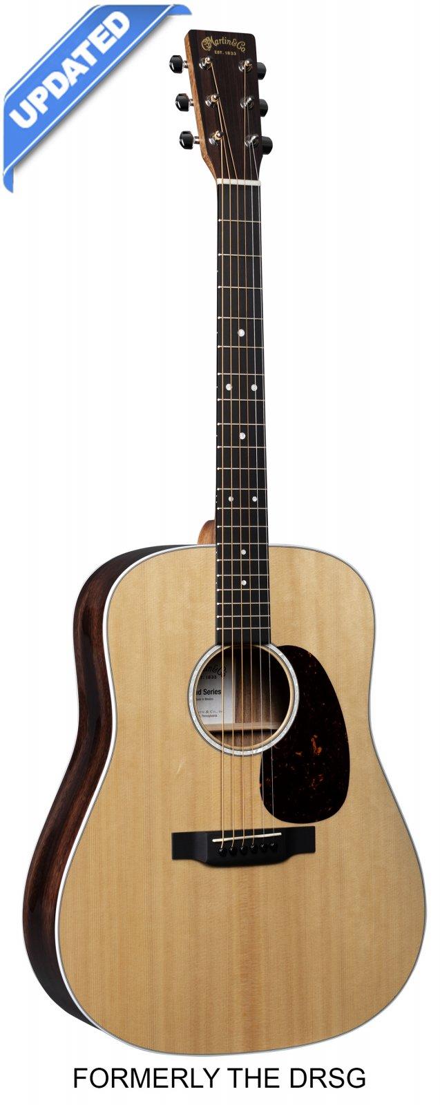 Martin D-13E Road Series Acoustic-Electric Guitar - Natural