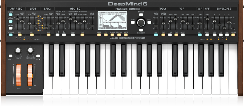 Behringer Deepmind 6 37-Key Synthesizer