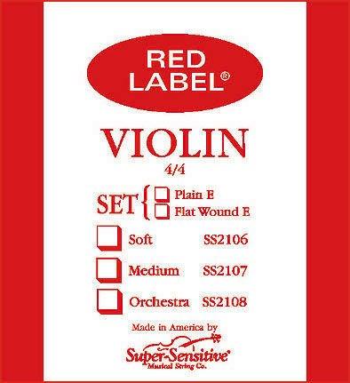 Red Label 2103 1/4 violin string set