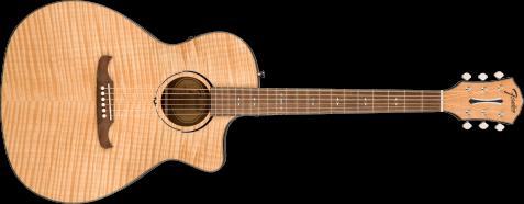 Fender FA-345CE Auditorium Natural Acoustic Guitar