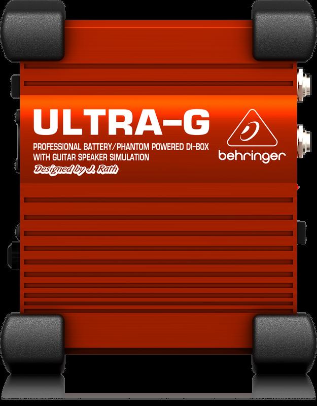 Behringer GI100 DI Box w/Cab Emulation