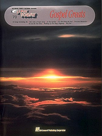 Hal Leonard E-Z Play Today #70 Gospel Greats