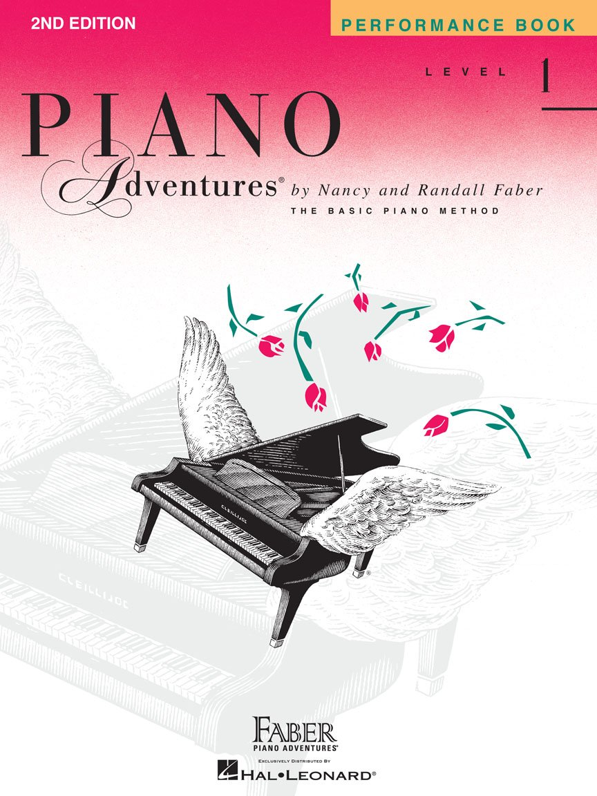 Hal Leonard Faber Piano Adventures Performance Level 1, 2nd Edition