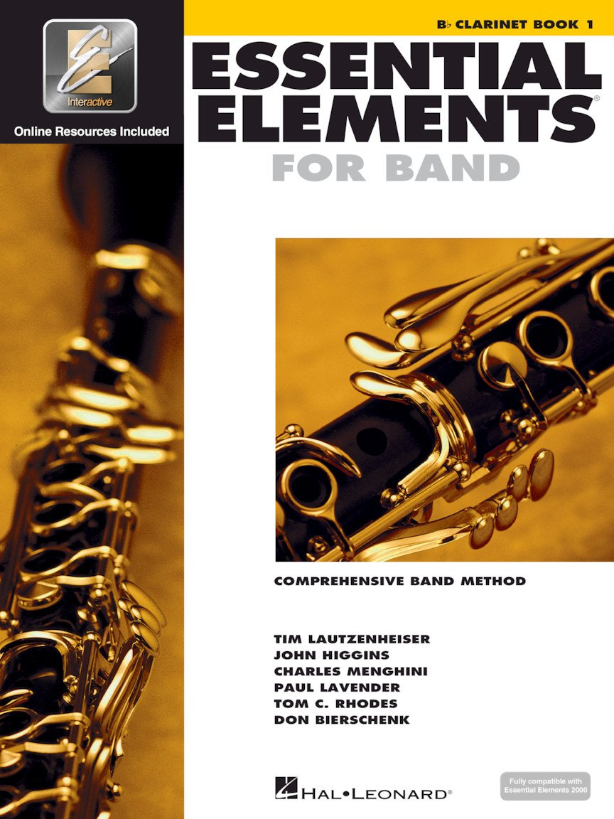 Hal Leonard Essential Elements for Band- Bb Clarinet Book 1 with EEi