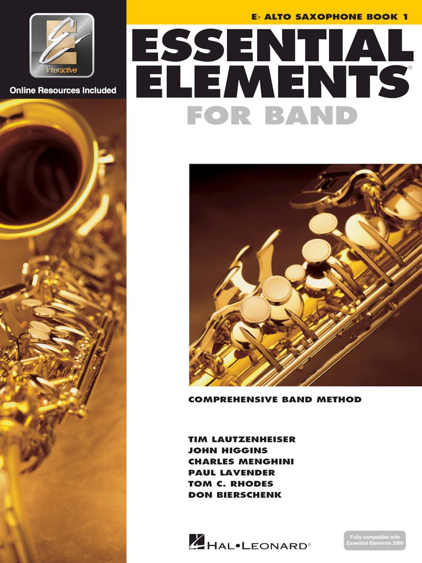 Hal Leonard Essential Elements for Band- Eb Alto Saxophone Book 1 with EEi